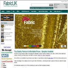 Fabric UK website