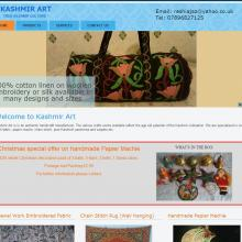 Kashmir Art Website